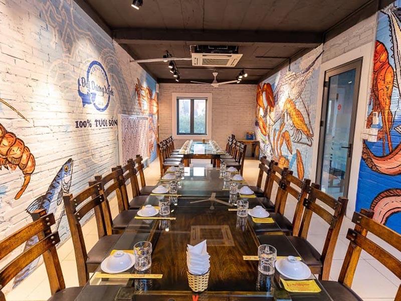 Đặt tiệc tại nhà hàng Đại dương xanh – Thưởng thức thực đơn gói trọn hương vị biển cả