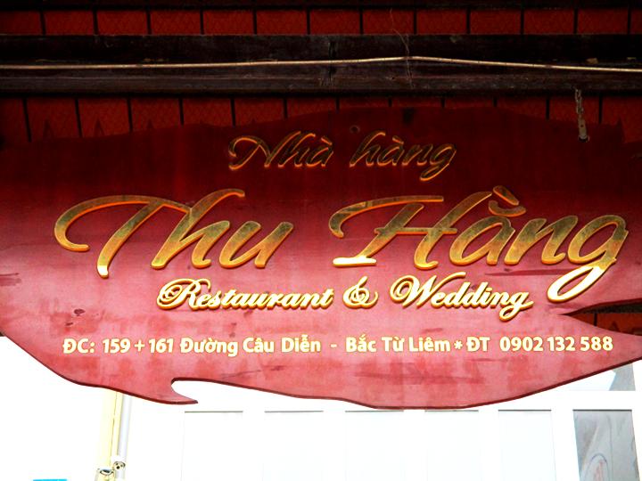 Đặt tiệc tại nhà hàng hải sản Thu Hằng