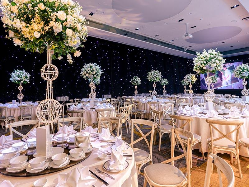 Xu hướng tổ chức tiệc cưới lên ngôi trong năm 2021